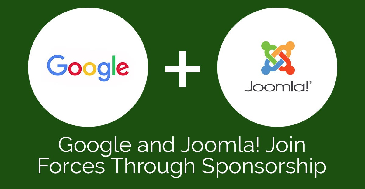 Google and Joomla! Join Forces Through Sponsorship